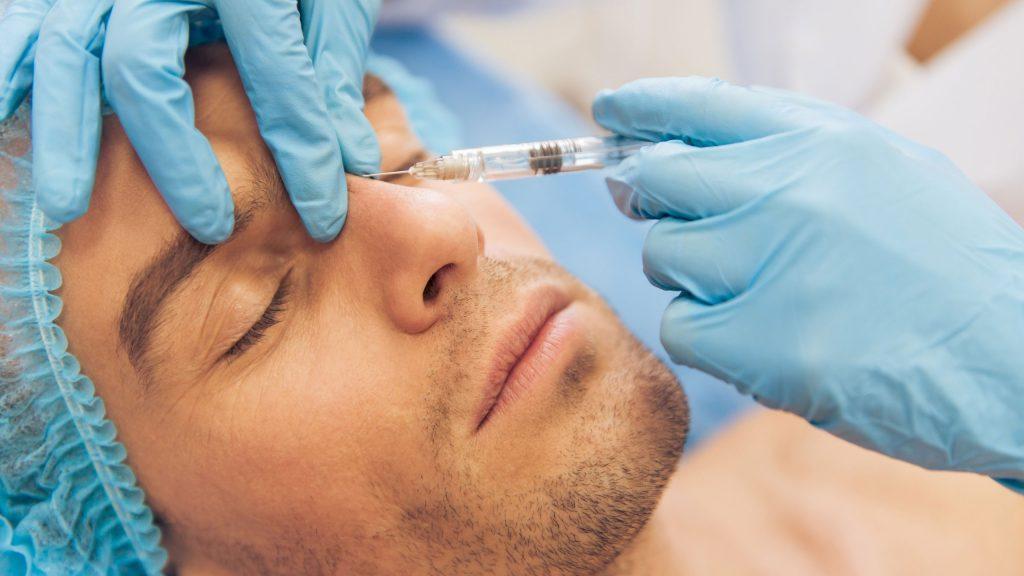 inyecciones de botox para hombres